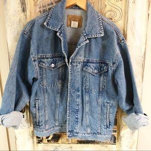 Vintage 80's GAP Denim oversized jacket.